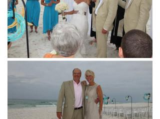 We love beach weddings